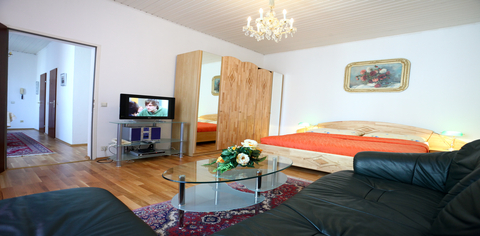 apartment 17a - Wohn Und Schlafzimmer